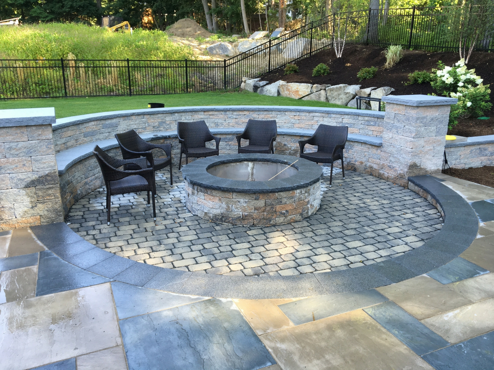 Milton Backyard Retreat Sean Flynn Landscape Hardscapes